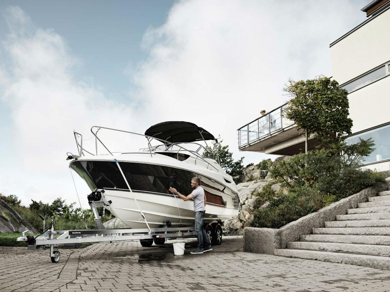 brenderup basic 600 brenderup trailere bluebay marine. Black Bedroom Furniture Sets. Home Design Ideas